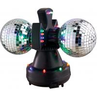 Buy cheap RGBYO LED Disco Lights Twin Mirror Ball Lamp For Parties Home Small Bar from wholesalers