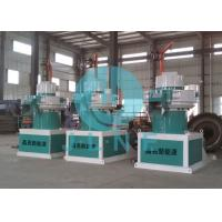 Industrial Ring Die Wood Pellet Mill / Vertical Wood Pellet Making Machine for sale