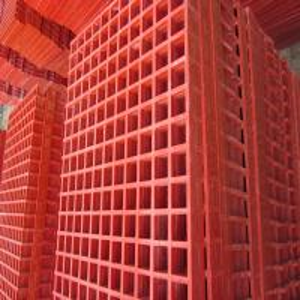 ISO9001 Blue Plastic Floor Grating Anti Corrosion Frp Material Free Sample