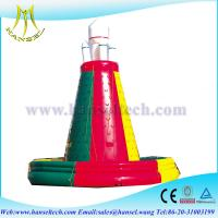 Quality Hansel inflatable climbing wall , inflatable climbing game , inflatable sport game for sale