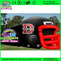 Buy Giant outdoor used inflatable sports tunnel inflatable football helmet tunnel tent at wholesale prices