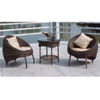 Quality Balcony furniture rattan table and chair for sale