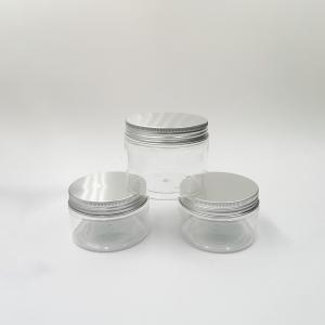 Quality PLA Fancy 8oz Screw Airtight Double Walled  Cosmetic Sifter Jars for sale