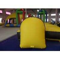 Quality Kindergarten Baby Inflatable Paintball Bunkers 1.2 X 0.6 X 1.5m 0.9mm Pvc Tarpaulin for sale