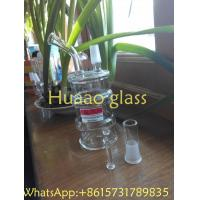 China Limited Edition oil drum rig clean glss oil rig recycle glass water pipe with 14mm on sale