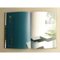 China Hot Stamped A4 / B5 Hardback Book Printing Art Paper / Matt Paper Perfect Bound on sale