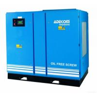 Quality Adekom Oil Free Rotary Screw Air Compressor for sale