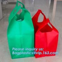 China Popular Advertising Non Woven Bags For Export, Cheap 100% New Recyclable Whole Bag Heat Sealed Machine Made PP Non Woven on sale