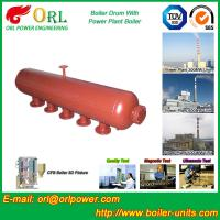 Quality Water Heat Boiler Mud Drum Anti Wind Single Type , Mud Drum In Boiler for sale