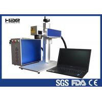 Quality Moveable 20w Fiber Laser Marking Machine For Metal Watches / Auto Parts for sale