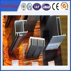 Quality aluminum suppliers 6061 t6 / sand blasted aluminium extrusion for sale