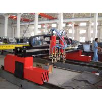 Quality CNC Flame Cutting Machine With CNC System Graphic Database USB Interface for sale