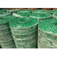 Quality Green PVC Coated Welded Wire Mesh Panels / Plain Weave Mesh For Railings for sale