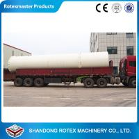 Wood chips , Wood shavings Rotary Drum Dryer with 12 months Warranty for sale