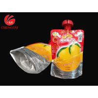 200ML Stand Up Bag With Spout / Food Material Juice Packaging Pouch for sale