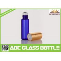 Buy Hot Sale Blue Pocket Roll On Perfume Bottle Glass 3ML 5ML, Blue Perfume Glass at wholesale prices