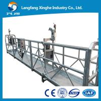 Quality aluminum  Motion Suspended Gondola Platforms, suspended cradle gondola Swing Stage for sale