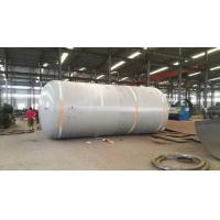 Quality Carbon Steel Pressure Tank , Vertical Horizontal Type Liquid Storage Tank for sale