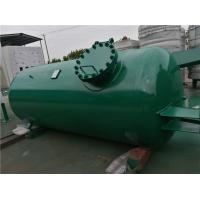 Buy High Pressure Gas Storage Tanks For Emergency Oxygen Horizontal Low Alloy Steel Material at wholesale prices