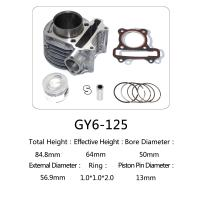 Quality Durable Aftermarket Motorcycle Cylinder Kit GY6 125 For Honda Halma 125 Scooter for sale