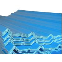 Quality Color Coated Steel Sheets / Tile, Waved Type Corrugated Roofing Sheet / Plate JIS3302 for sale