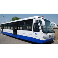 Buy Airport Diesel Engine Low Floor Buses With PPG Polyurethane Finishing at wholesale prices