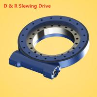 China slewing drive for solar tracker, solar power energy use slewing drive with DC, slewing reducer for sale