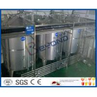 China 8000 - 10000BPH Functional Beverage Soft Drink Production Line With Bag Type Duplex Filter on sale