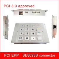 Buy Pin Number Pad Encryption Pin Pad PCI 3.X EPP SE8098B For Hyosung ATM at wholesale prices