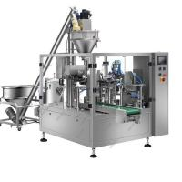 Quality Custard Powder Automatic Packing Machine , Vertical Granule Filling Machine For Pouch for sale