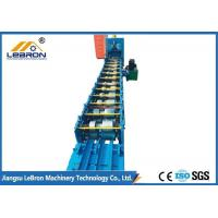China U C Channel Profile Roll Forming Machine GCR15 Mold Steel With Quenched Treatment on sale