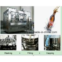 Quality 3 in 1 Aseptic Fully Automatic Beverage Bottle Line (CGFD) for sale
