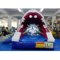 Quality PVC Tarpaulin Shark Commercial Or Personal Large Inflatable Slide ROSH for sale