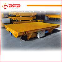 Cable Reels Powered Material Handling Rail Flat Cart industry usage for sale