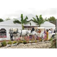 China Multifunction Wedding Event Tents 100 Km / H Wind Resisting CE Approved for sale