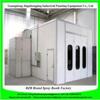 Quality Double Intake Centrifugal Fan Metal Basement Furniture Spray Booth, Painting Station,Down Draft Furniture Spray Booth for sale