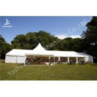 Buy cheap Fixable Temporary Alumminum Frame Wedding Reception Tents With Lining Decorations from wholesalers