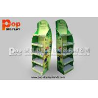 Quality Shelves Stable Corrugated Pop Display / FSDU For Hair Care Products for sale