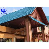 Quality Lightweight  Spanish ASA Synthetic Resin Roof Tile Prefabricated Houses Excellent decay resistance for sale
