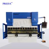 Quality Electric hydraulic press brake 8mm steel CNC bending machine from Preda for sale
