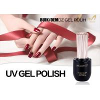 Quality Salon Quality Shellac Gel Nail Polish , Chemical Free Gel Nail Polish For Girls for sale