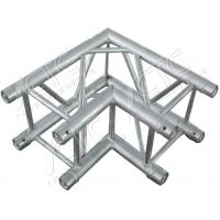 Quality Silver Trade Show Display Truss Durable Lightweight Aluminum Truss With Two Sides Corner for sale