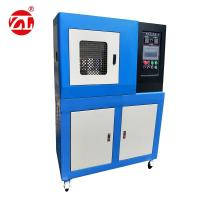 Rubber Plate Vulcanization Hydraulic Press Machine , Electrical Heating Compression Testing Machine