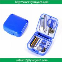 Buy cheap Portable Travel Sewing Kit Box Needle Threads Scissor Thimble Home Tools from wholesalers