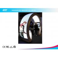 Quality Animation Show P5 Flexible Led Curtain Display / Led Curved Screen , High Definition for sale