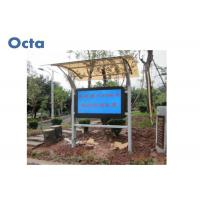 Quality 55 Inch FHD Outdoor Digital Signage LCD Advertising Media Player 6mm AR Glass for sale