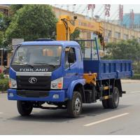 Quality Foton 3.2ton truck mounted crane for sale