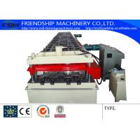 China 15KW 380V Metal Deck Roll Forming Machine With 2.0mm GI Steel 900mm width on sale