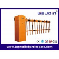 China 2 Fence Car Parking Vehicle Barrier Gate Crank / Rod Structure For Toll Station on sale