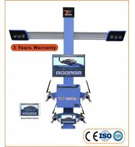 """Quality ISO 9001 210"""" Wheelbase 11"""" Clamp 3D Wheel Aligner T75 for sale"""
